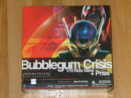 Moto-Slave [Priss]  1/15 scale Action Figure  (Yamato) Bubblegum Crisis