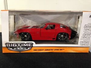 1:24 BIGTIME MUSCLE 1963 CHEVY CORVETTE STINGRAY