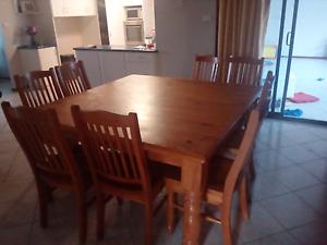 9 piece dining suite Bunbury Bunbury Area Preview