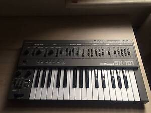 Roland SH-101 Synthesizer Grey . Perfect Condition Marrickville Marrickville Area Preview