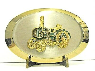 John Deere GP General Purpose Two Cylinder Tractor Belt Buckle jd WIDE FRONT  wf