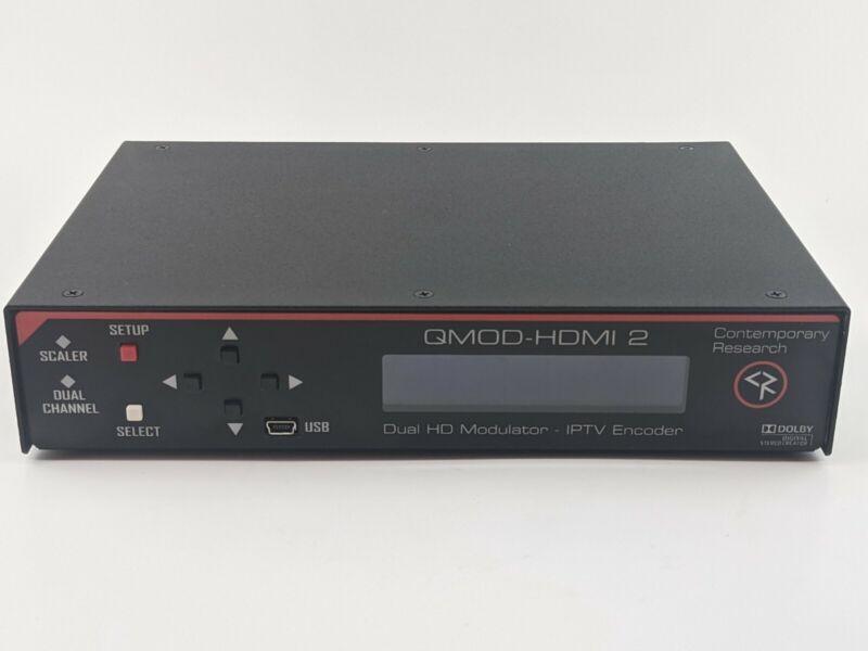 Contemporary Research QMOD-HDMI 2 HDTV Modulator and IPTV Encoder