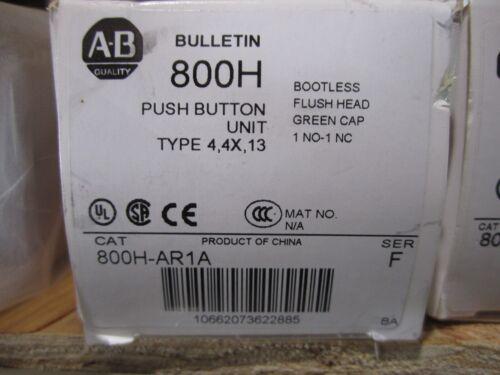 NEW ALLEN BRADLEY PUSH BUTTON 800H-AR1A