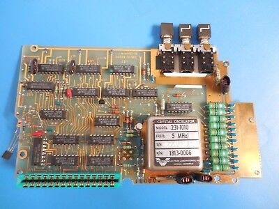 Hp Agilent 08640-60330 Counter Time Base Board For 8640 Rf Generator Gold