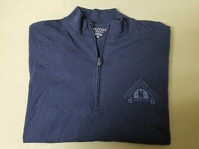 New Mens Nautica Seaworthy Outfitters Sleepwear Pajama top Shirt.