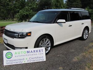 2013 Ford Flex Limited, AWD, NAV, Warr