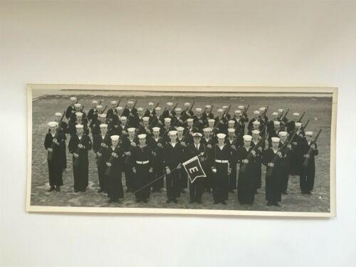 Vintage B&W Photo US Coast Guard Recruits with RIFLES Cape May NJ Viet Nam Era