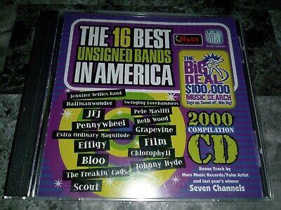 16 Best Unsigned Bands In America 2000 CD / Scratch Free Disc / Free
