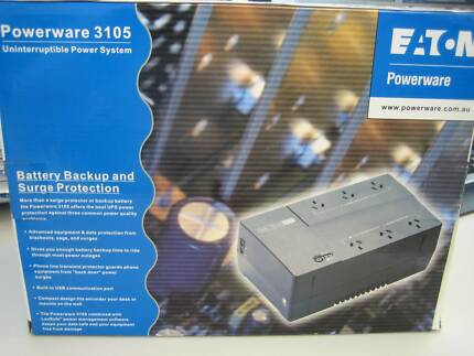 UPS Power Back Up Unit - Powerware 3105, 6 Outlets, 700VA Cannington Canning Area Preview