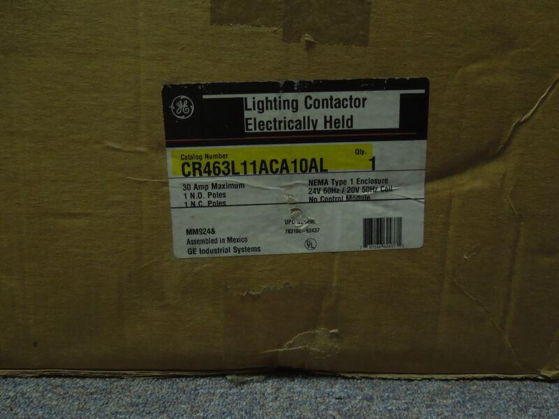 General Electric CR463L11ACA10AL 30amp type 1 enclosure lighting contactor