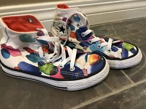 Converse shoes girls size 12
