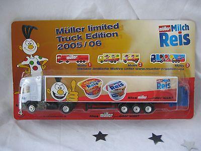 """Werbetruck """"Müller Edition 2005/06 - Motiv 4"""" von Müller Milchreis - NEU & OVP!!"""