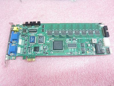 8Ch 240Fps D1 Pci E H 264 Video Analytics Altera Cyclone Ii Techwell Tw2804