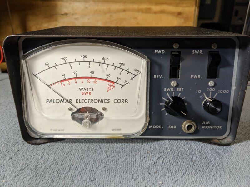 Palomar Electronics Model 500 SWR/Power Meter.