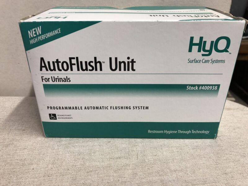 HyQ Technical Concepts Autoflush UNIT Toilet Urinal 400938 NEW IN BOX