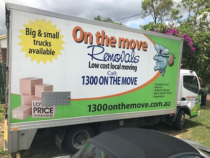 1300 ON THE MOVE Furniture Removals and Relocation Services