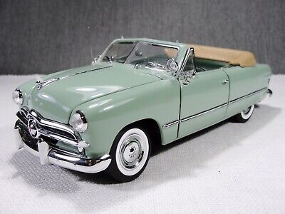 1/24 Scale 1949 Ford Custom Convertible Pebble Beach LE Model Car Franklin Mint