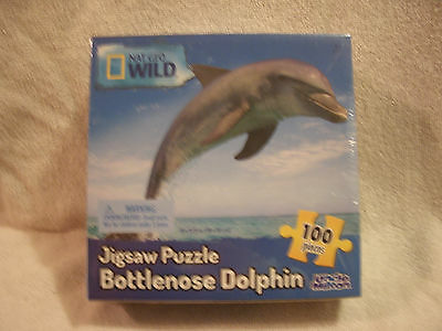 15 x 11.25 Bottlenose Dolphin 100 Piece Puzzle  Bottlenose Dolphin Puzzle