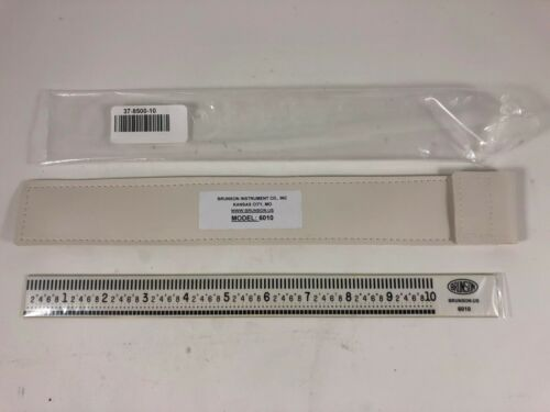 Brunson scale ruler 10 inch 6010 Optical tooling