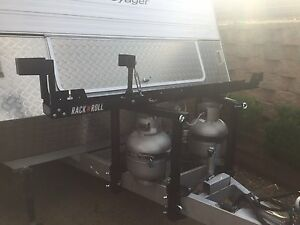 Motorbike carrier for caravan drawbar Clinton Gladstone City Preview
