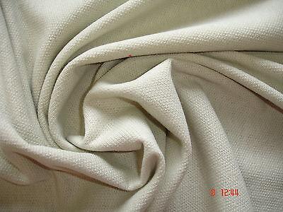 1 Laufmeter Sweatshirtstoff 3,79€/m² beige reine Baumwolle