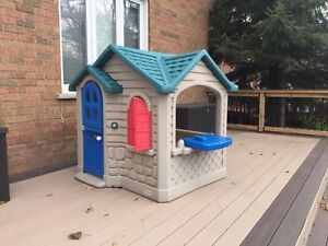 Playhouse for outdoor use