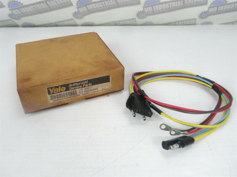 Genuine YALE ( FORKLIFT PART 519800400 ) Ignition Coil Wire Harness (NEW)