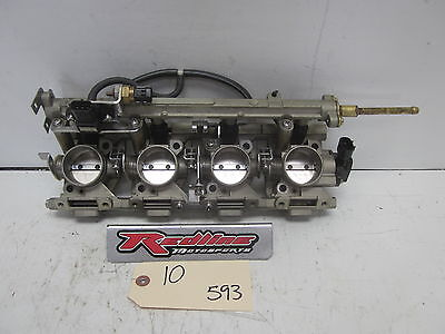 2002 Yamaha FX 140 Intake Throttle Bodies Assembly
