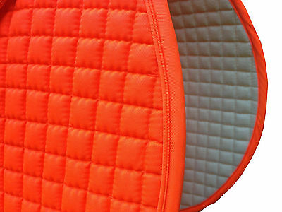Hunter-Safety Neon Blaze Orange English Saddle Pads - Dressage/All-Purpose/Pony Pony English Pad