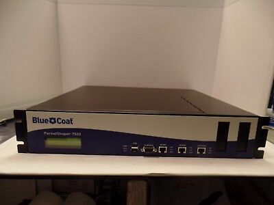Used, Bluecoat Packetshaper 7500 PS7500-L100M Network Monitoring Device for sale  USA