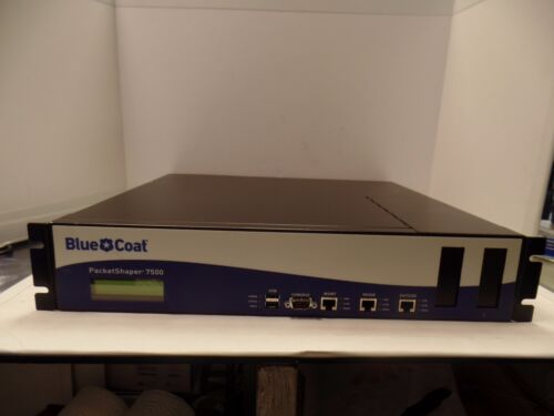 Bluecoat Packetshaper 7500 PS7500-L100M Network Monitoring Device