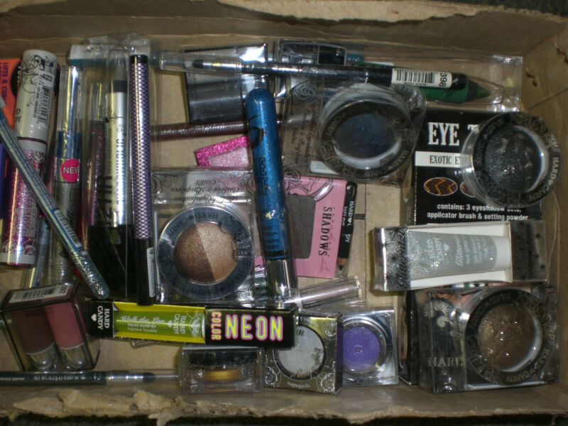 Hard Candy EYE SHADOW LINER GLITTER MASCARA Makeup Cosmetics Wholesale Lot of 36