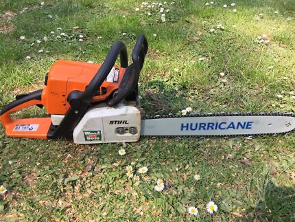 Stihl chainsaw for hire $40 per day.