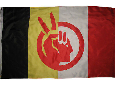 American Indian Movement Flag Native American Rights Protest 3x5 ft Banner AIM