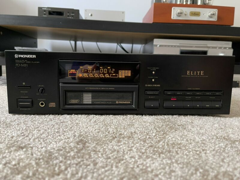 PIONEER Elite PD-M51 Flagship Audiophile CD Player Transport (Made In Japan)