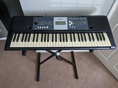 Yamaha YPT 230 Electric Keyboard with  Clifton Stand - COLLECTION