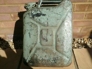 WW2 GERMAN WEHRMACHT JERRY CAN 1943