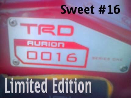 2007 Toyota TRD Aurion  #16 Supercharged Sedan Sports Auto