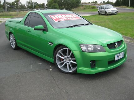 2007 HOLDEN COMMODORE UTE SV6 AUTO Thomastown Whittlesea Area Preview