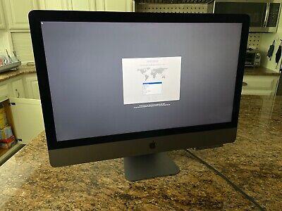 Apple iMac Pro 27, Intel Xeon 10-core, 128GB RAM, 1TB SSD, AMD Vega64, 10G Eth