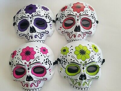 Day Of Dead Halloween Mask (Day of the Dead Mask Dia De Los Muertos Sugar Skull Halloween Costume)