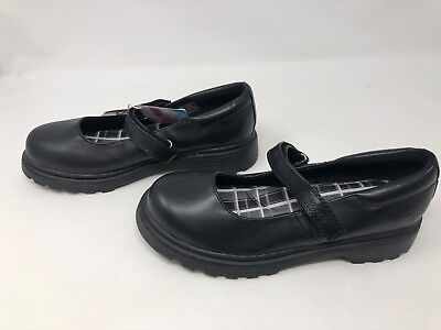 Girls Skechers LIGHT SCOUTS CAMPUS COOL Black mary janes              4H