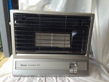 1 x Rinnai Econoheat 850 Radiant Heater - Natural Gas - RRP$609 Caringbah Sutherland Area Preview