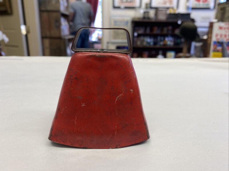 Old Red Goat Or Cow Bell