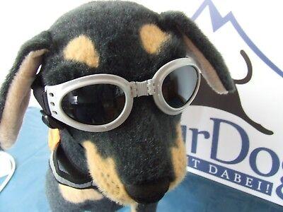 Alcott, Traveler UV-Schutzbrille / Sonnenbrille für Hunde, die Letzten!