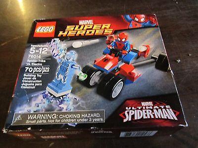 LEGO 76014 Marvel Super Heroes Spider-Trike vs. Electro Spider-man Spiderman NEW