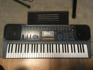 Keyboard/Piano With Case, Sustain pedal and really cool effects