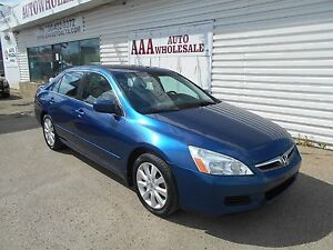 2007 Honda Accord Sdn EX FWD LEATHER ROOF