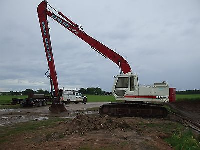 Linkbelt Longreach Excavator 60 Foot Reach 1 14 Bucket