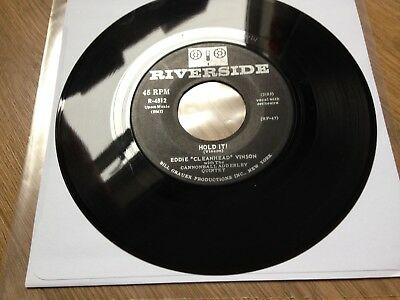 "Eddie ""Cleanhead"" Vinson US 7"" Single Hold It! RIVERSIDE R-4512 1962 JAZZ BLUES  for sale  Shipping to Ireland"